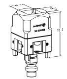 Soporte para electrodos Erowa Chuck Square 25X25 3A-300001
