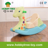 2017 jouets en plastique d'intérieur de curseur de cheval d'oscillation pour le bébé (HBS17015B)