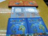 두꺼운 표지의 책 아동 도서, 다채로운 인쇄 의 꿰매는 연결