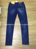 синие джинсыы джинсовой ткани 9oz (HYQ112-11GDT)