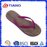 Poussoir coloré de plage d'EVA de mode neuve pour les femmes (TNK35356)