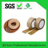 Lacre marrón claro Kraft del cartón de cinta de papel