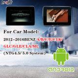 Controle de tela de toque Navegação de Android + Interface de vídeo para 2012-2014 Benz C / E / a / B / Ml / Glk (NTG-4.5 / 5.0) Suporte Relógio de cabeça Monitor Exibição síncrona