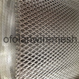 Titane Expanded Metal Mesh Foil Diamond Hole High Purity