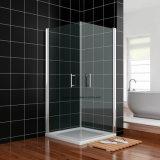 La coutume imperméable à l'eau de salle de bains de matériel de constructeurs dimensionne le mur glissant la partition en aluminium