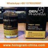Escrituras de la etiqueta de calidad superior del frasco de Enanthate 10ml de la testosterona