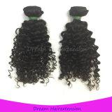 Отсутствие не линять никакой путать отсутствие сухих волос 100% индейца человеческих волос Remy девственницы