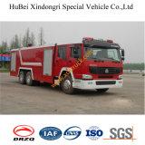 16ton HOWO水普通消防車Euro3