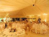 500 Leute Belüftung-aufblasbares Ereignis-Partei-Hochzeits-Zelt mit Hochzeits-Stadiums-Dekoration