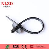 Связь застежка-молнии UV упорной связи кабеля связи держателя нажима nylon пластичная