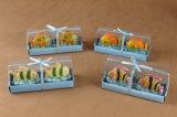 Vela Shaped del arte de los nuevos del diseño de parafina de la cera pescados animales del arte