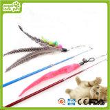 Telescopic Feather Rod Cat Toys Produto para animais de estimação