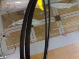 Автомобильной плоской V-Belt передачи регулируемой обернутый резиной