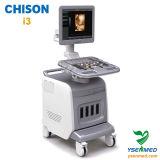 Ultra-som médico Chison I3 de Doppler da cor do trole 4D do hospital