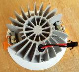 светильник выреза 110d 3inch СИД 15W 1650lm 85ra 95mm вниз светлый