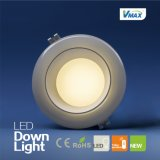 15W High Power Houseing Lamp Três cores LED Dimmable Downlight (V-DLQ0815RY)