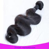 Человеческие волосы 100% бразильянина Remy девственницы волос норки сотка