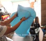 Los salones de la playa, lugar frecuentada de los bolsos de aire el dormir inflable impermeabilizan