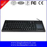 Teclado de ordenador industrial durable con el Touchpad