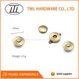 кнопка никеля 14mm свободно бессвинцовой покрашенная медью магнитная щелчковая для кожаный сумки