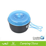 Ultralight Camping Cooking Pans und Portable Camping Aluminum Pot Sets Cookware