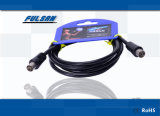 9.5mm rechtwinkliges CATV Kabel