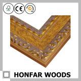Rétro photo en bois implorante en bronze ou bâti de peinture