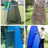 テントの容易な折る更衣室の洗面所のシャワーバスのテントのポータブルに服を着せるカムフラージュ