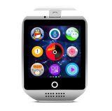 Nr., 1 heiße Kamera-intelligente Uhr des Verkaufs-Q18 gebogene Bildschirm-1.3m
