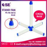 Ventilateur d'intérieur de stand de ventilateur de refroidissement de tête bleue de couleur de fournisseur de la Chine