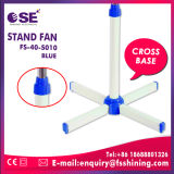 China-Lieferanten-blaue Farben-Kronen-Innenkühlventilator-Standplatz-Ventilator