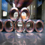 Gr2電気めっきのためのチタニウムの覆われた銅の管または管の陽極