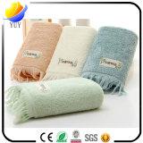 Baumwolle kundenspezifisches Muster-warmes und weiches Gesichts-Tuch-Bad-Tuch