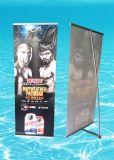 Qualité L en aluminium drapeau pour l'exposition, exposition, publicité