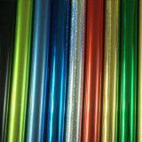 Película caliente de la lámina para gofrar de los colores de la talla estándar el 1.28m*180m para los artes de cuero/de madera