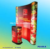 옥외 실내 부스 쇼 전시 부스 (PU-04-A)를 인쇄하는 PVC를 가진 대가 똑바로/굽은 모양 3X2에 의하여 갑자기 나타난다