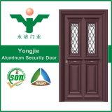 Porte résidentielle en aluminium de garantie de modèle neuf