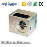 Galvanometro ad alta velocità di esplorazione del laser Sg7210 di cino Galvo con Ce approvato