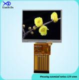 550CD/M2 экран дюйма TFT LCD яркости 3.5 с сопротивляющей панелью касания