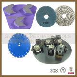 Garniture de polonais en métal de Francfort de diamant pour le béton