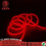 Luz de tira de néon da corda do cabo flexível do PVC da forma redonda de RoHS D do Ce