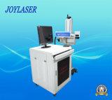 Máquina da marcação do laser do vôo para a fixação de datas do papel/frasco