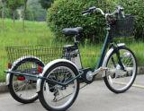 """24 """" tricicli elettrici adulti della grande rotella del carico delle 3 rotelle con la baracca sulla vendita"""