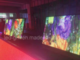 Im Freien Videodarstellung BekanntmachensP10mm LED für Doppeltes versah mit Seiten