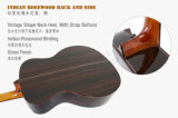 Guitarra acústica de Cutway del tazón de fuente hecho a mano de 40 pulgadas de la marca de fábrica de Aiersi (SG02ARCN)