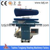 Tabla servilleta de tela Comercial de vapor Máquina de la prensa con CE y SGS