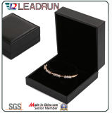 Leather Velvet Jewelry Box de armazenamento Jewelry Bangle Bracelet Pendant Packing Gift Box (YS95)