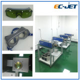 Codificação dinâmica/impressora de laser de estática da fibra da Não-Tinta da codificação