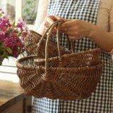 (BC-WF1006) Чисто Handmade естественная корзина цветка вербы