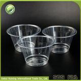 ふたが付いている生物分解性の卸し売り明確なプラスチックアイスクリームの容器